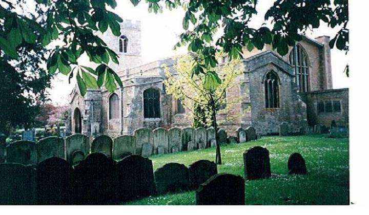 South-East View of St Mary's